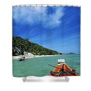 Thailand Boat Shower Curtain