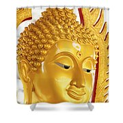 Thailand, Pathom Thani Shower Curtain
