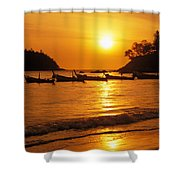 Thailand, Phuket Shower Curtain