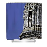 Thailand Temple Architecture Shower Curtain