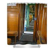 Thailand Train Shower Curtain