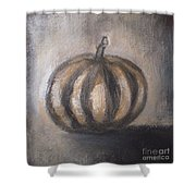 Thanksgiving - Pumpkin Shower Curtain