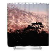 Thanksgiving Sky Shower Curtain