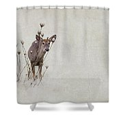 Thanksgiving Visitor Shower Curtain