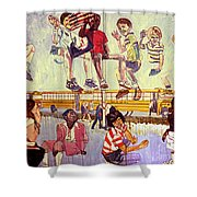 That Busing Thang Shower Curtain