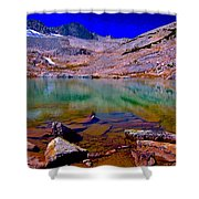 That Is The Glacier Up There Shower Curtain