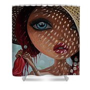 That Perfect Love I Never Had - Oil Painting Shower Curtain