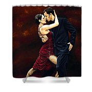 That Tango Moment Shower Curtain