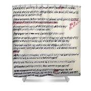 That The Works Of God Be Manifest Shower Curtain