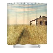 That Train Don't Stop Here Anymore Shower Curtain