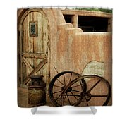 The Western Style Shower Curtain