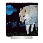 That Wolf Shower Curtain