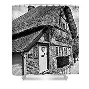 Thatched Cottages In Chawton 5 Shower Curtain