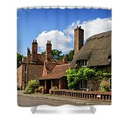 Thatched Cottages In Chawton 6 Shower Curtain