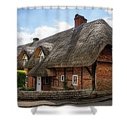 Thatched Cottages In Chawton Shower Curtain