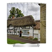 Thatched Cottages Of Hampshire 12 Shower Curtain