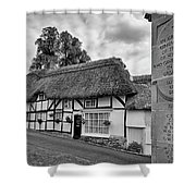 Thatched Cottages Of Hampshire 13 Shower Curtain