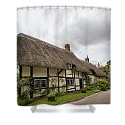 Thatched Cottages Of Hampshire 14 Shower Curtain