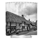 Thatched Cottages Of Hampshire 15 Shower Curtain