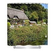 Thatched Cottages Of Hampshire 16 Shower Curtain