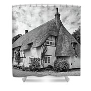 Thatched Cottages Of Hampshire 17 Shower Curtain
