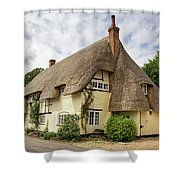 Thatched Cottages Of Hampshire 18 Shower Curtain