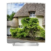 Thatched Cottages Of Hampshire 19 Shower Curtain
