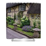 Thatched Cottages Of Hampshire 24 Shower Curtain