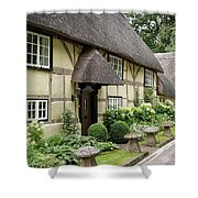 Thatched Cottages Of Hampshire 25 Shower Curtain