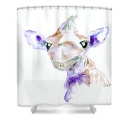 That's Darn Cute Shower Curtain