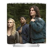 The 100 Shower Curtain