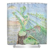The 18th Hole Shower Curtain