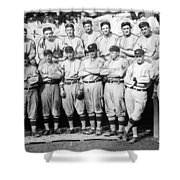 The 1911 New York Giants Baseball Team Shower Curtain
