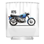 The 1972 R75 Shower Curtain
