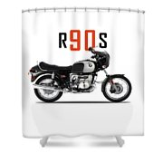 The 1974 R90s Shower Curtain