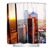 The 48th Floor Shower Curtain