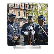 The 54th Regiment Bos2015_185 Shower Curtain