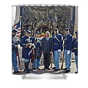 The 54th Regiment Bos2015_191 Shower Curtain