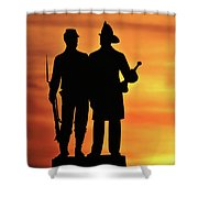 The 73rd New York Shower Curtain