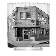 The 88 - Bw Shower Curtain