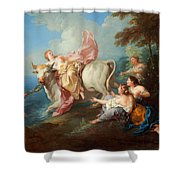 The Abduction Of Europa Shower Curtain