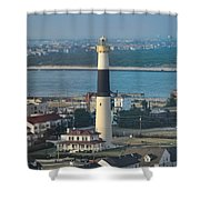 The Absecon Lighthouse In Atlantic City New Jersey Shower Curtain