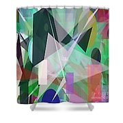 The Abstract Shower Curtain