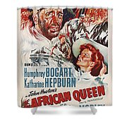The African Queen B Shower Curtain