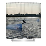 The After Jump Shower Curtain