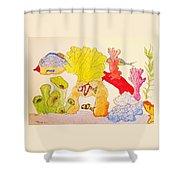 The Age Of Aquarium Shower Curtain