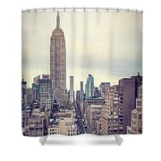 The Age Of The Empire Shower Curtain