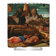The Agony In The Garden 1455 Shower Curtain
