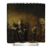 The Alchemist Shower Curtain