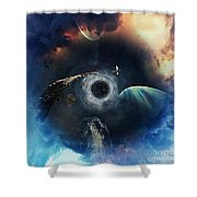 The All Seeing Eye Shower Curtain
